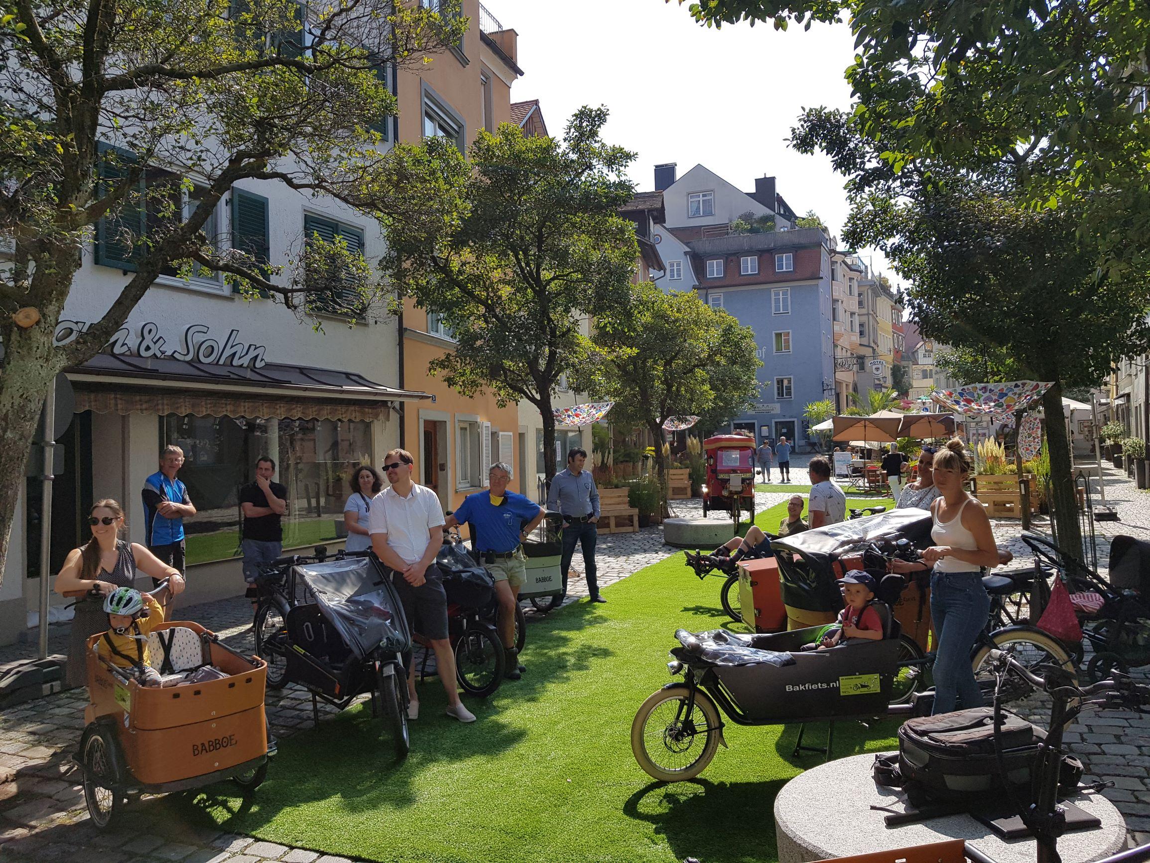 Eindrücke vom Stadtradeln und EMW 2020